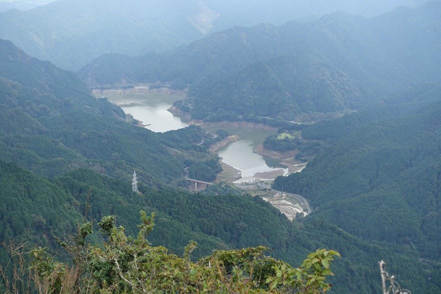 三重 錫杖ヶ岳山頂からの展望