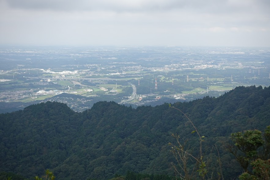 三重 錫杖ヶ岳 山頂からの展望