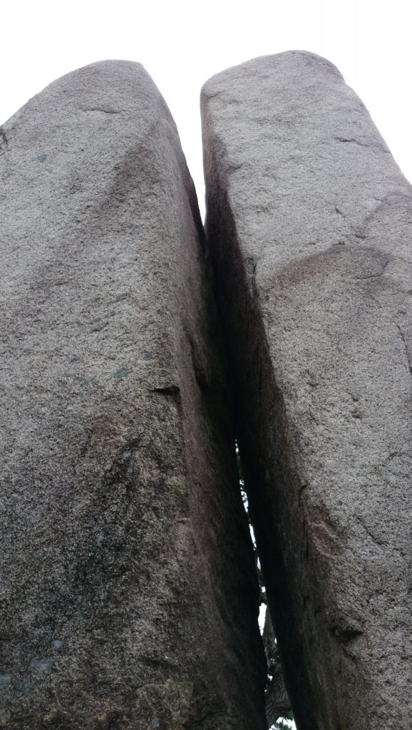 御在所岳 おばれ岩