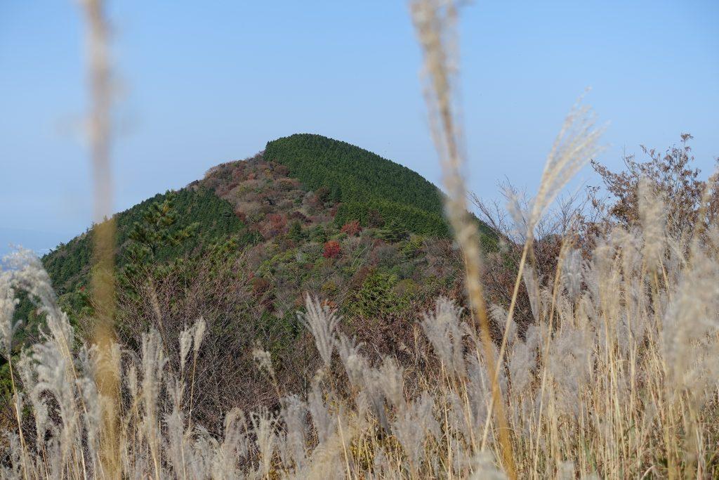 三重 大洞山 雌岳からの雄岳方面
