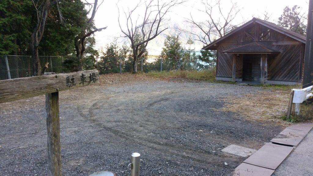 三重 八鬼山 向井登山口付近駐車場