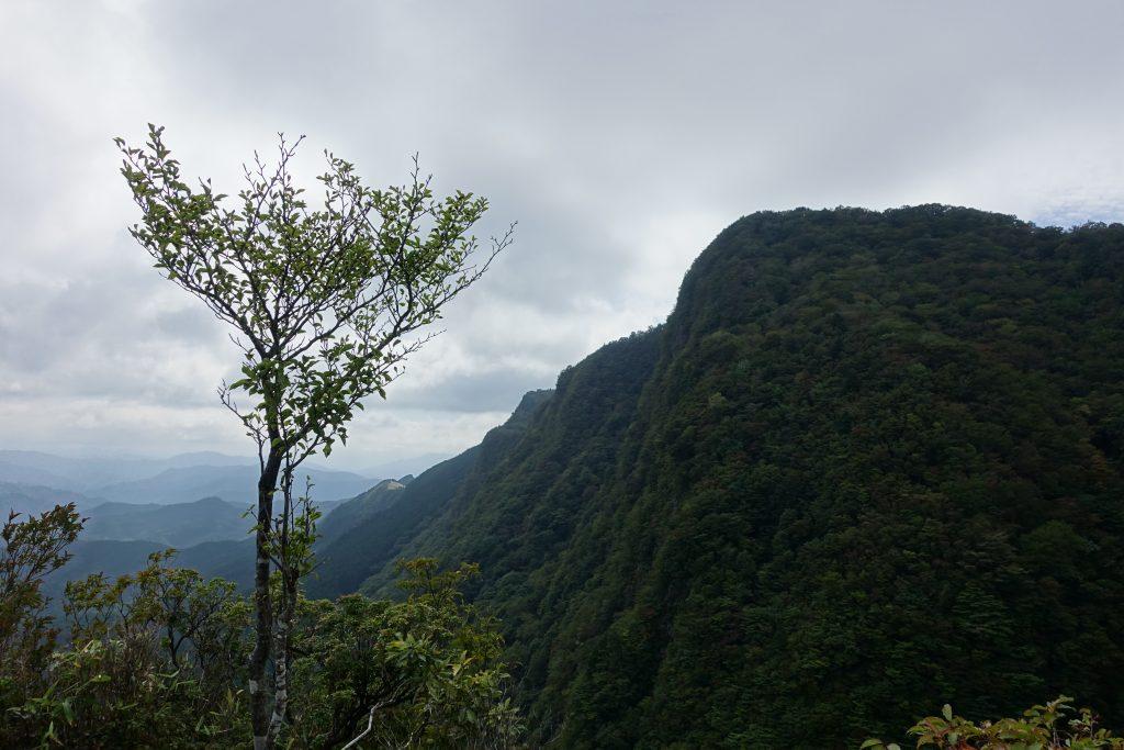 三重 倶留尊山 三ッ岩からの展望