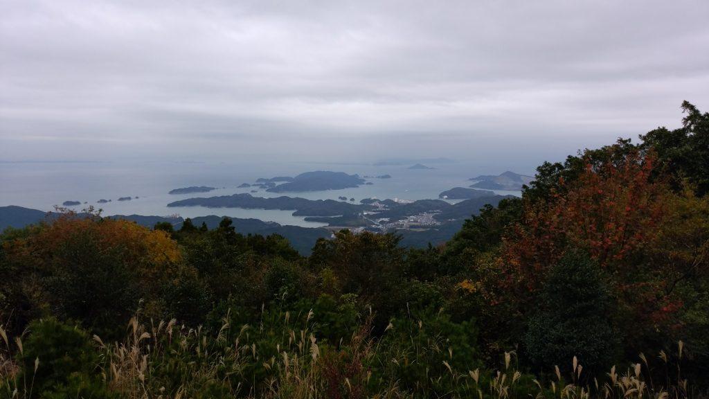 三重 朝熊ヶ岳山頂からの景色