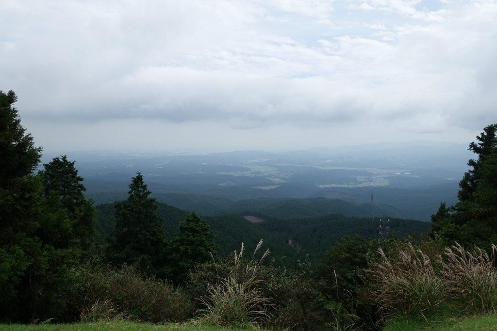 三重 青山高原 髻山からの展望