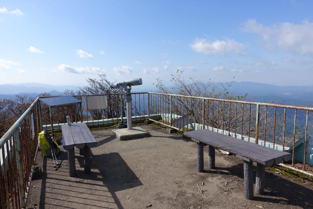 三重 高見山山頂展望台