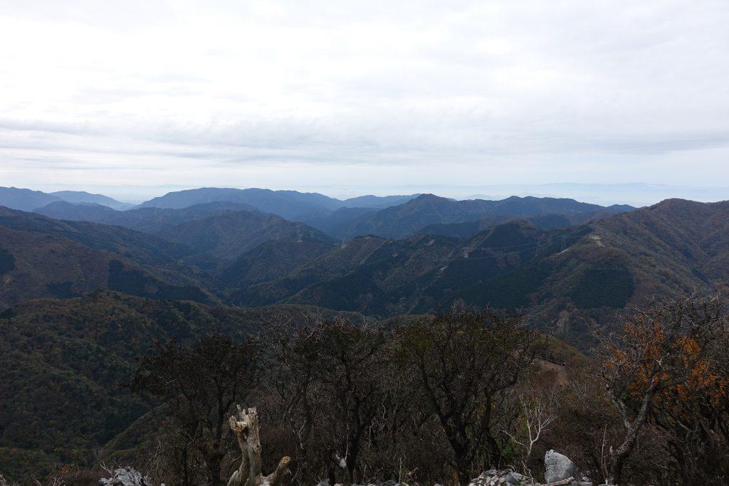 三重藤原岳 展望台から