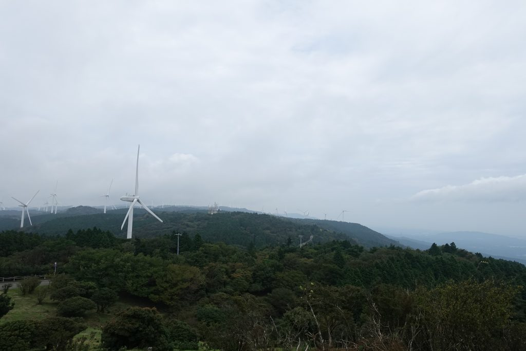 三重 青山高原 風力発電所風車