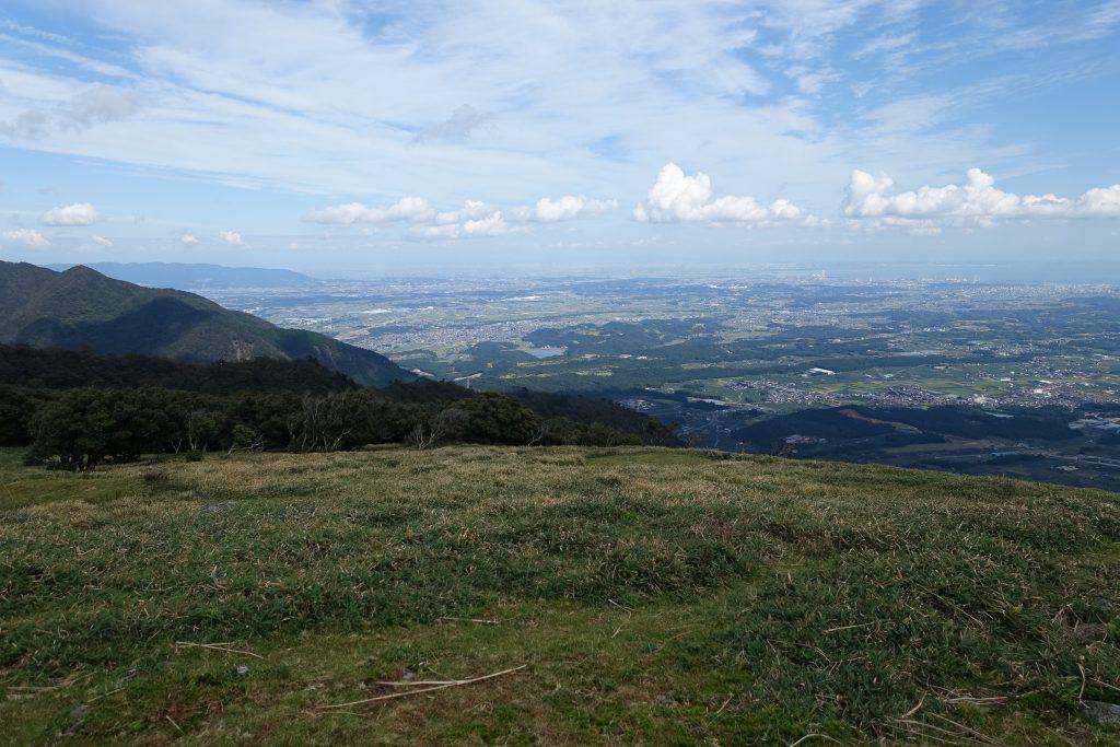 三重 入道ヶ岳山頂からの展望 伊勢平野
