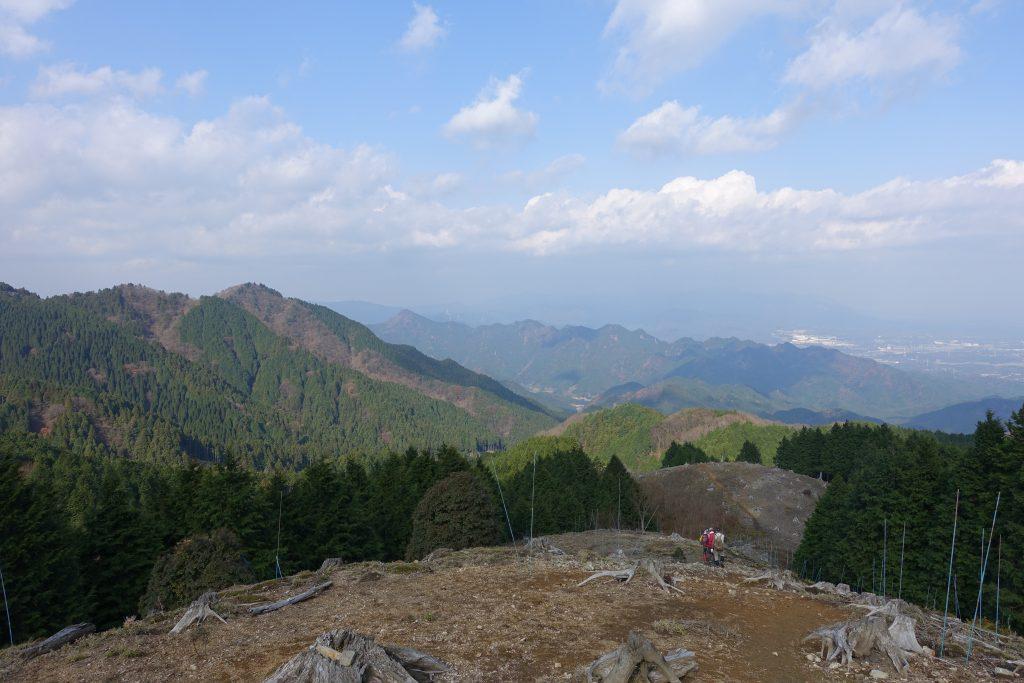 三重経ヶ峰 笹子谷ルート下り
