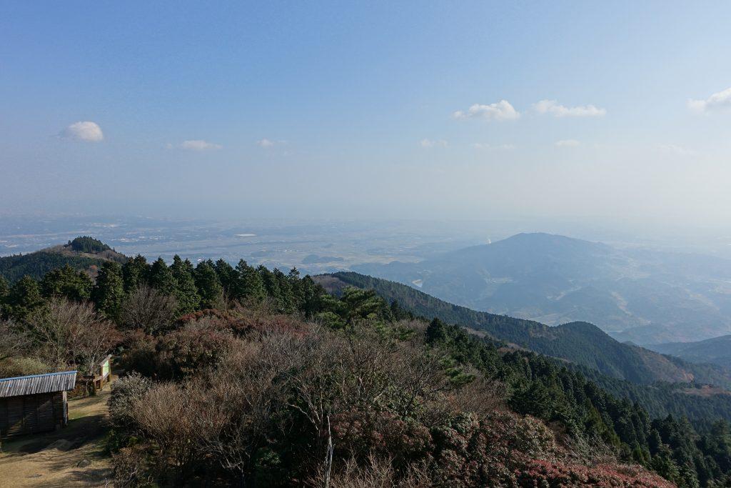 三重経ヶ峰山頂から02