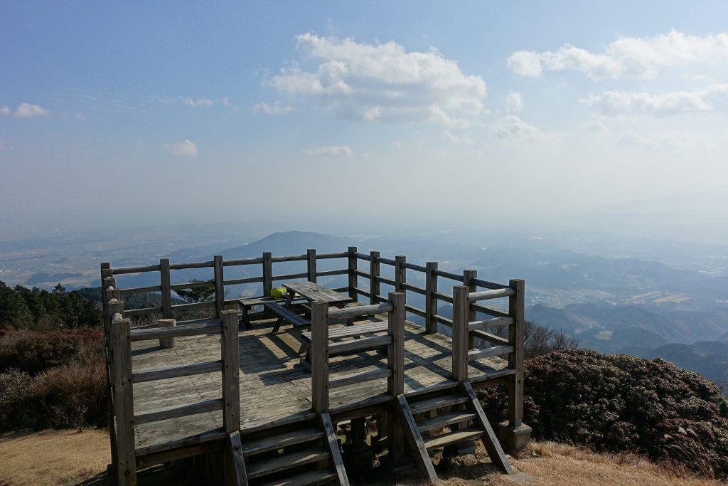 三重経ヶ峰山頂展望台