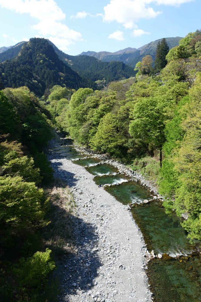東京奥多摩日原川