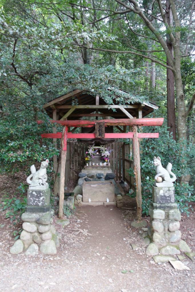 初秋高尾山02 稲荷山神社